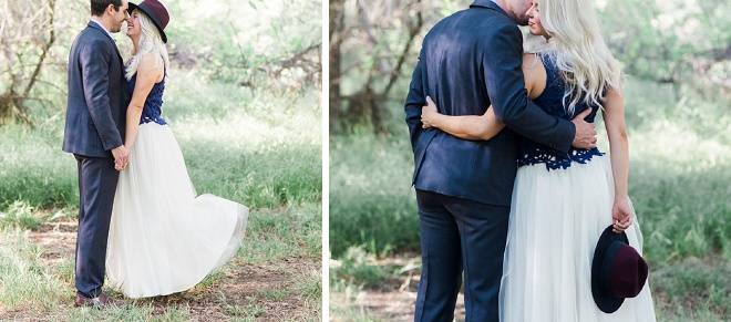 We love this dreamy California engagement!
