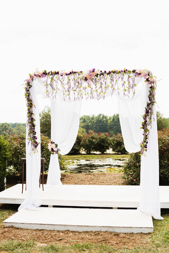 We're swooning over this super sweet DIY wedding!