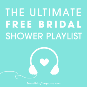 Listen to the most lovely, sweet and romantic Bridal Shower Playlist for FREE on Spotify!