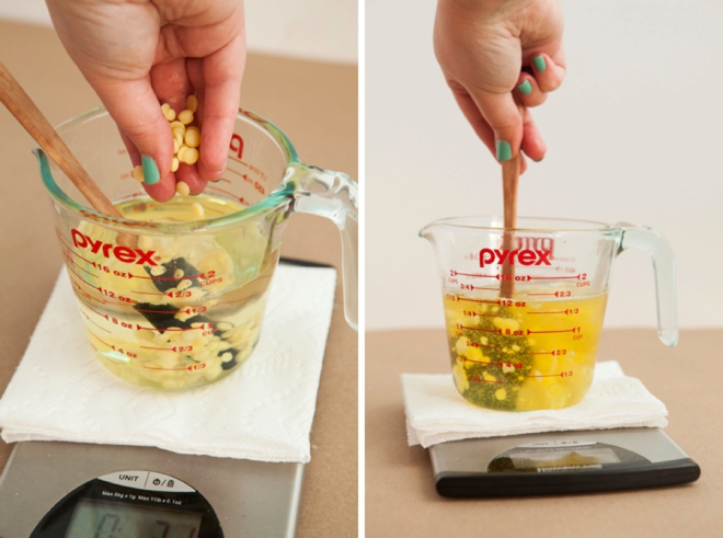 This tutorial shows you exactly how to make push-pop style lotion bars!