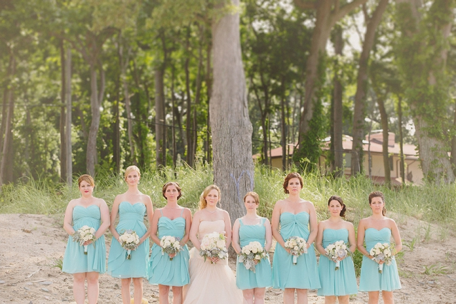 Such a fun shot of the Bride and her Bridesmaids!