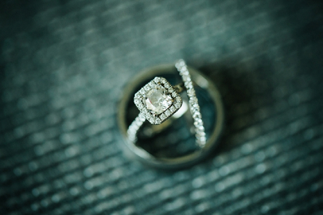 We're loving this gorgeous ring shot! Such a beautiful ring set!