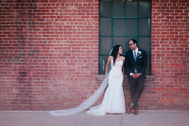 We're loving this couple and their gorgeous and classic wedding!
