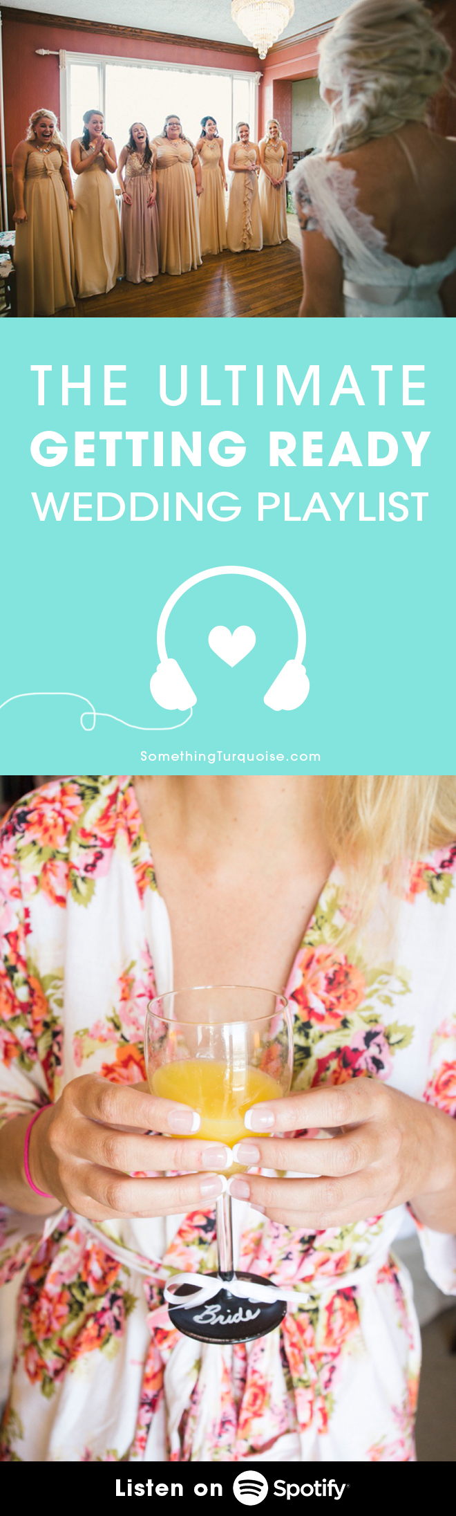 The BEST playlist for the morning of your wedding!!!