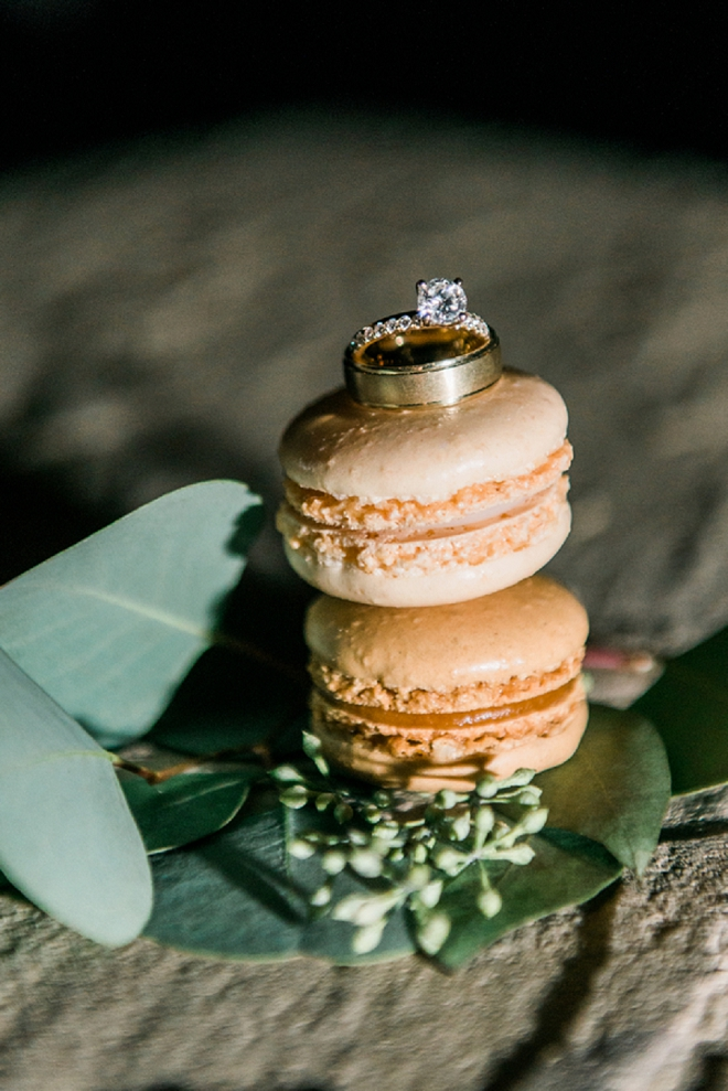 We're loving this gorgeous ring shot on maroons!