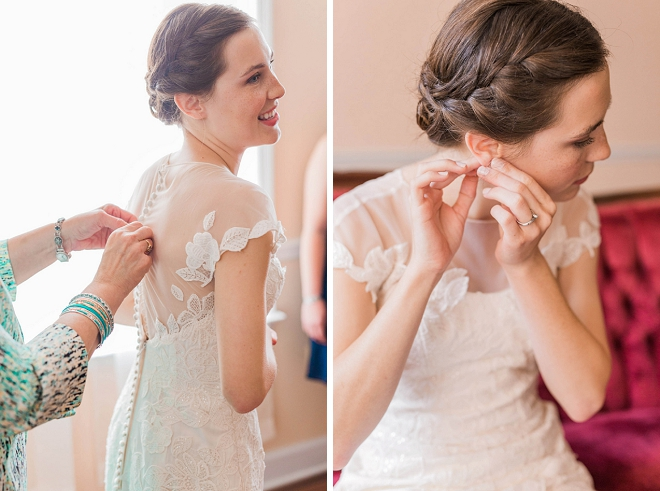 We're in love with this stunning Bride getting ready for her big day!