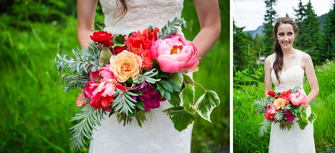 Swooning over this gorgeous bright and colorful bouquet!!