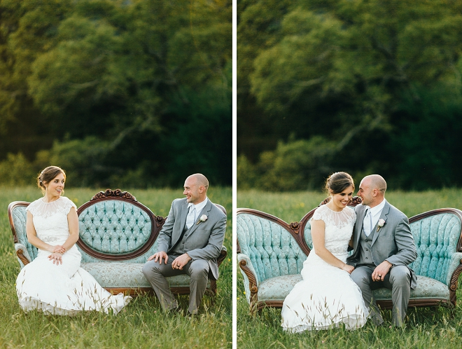 We're in LOVE with this dreamy rustic wedding!