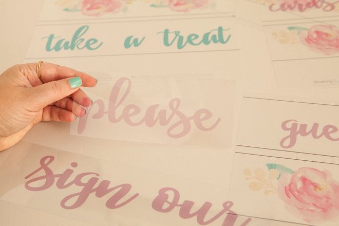 Learn how to print your own custom sayings for the Heidi Swapp Lightbox!