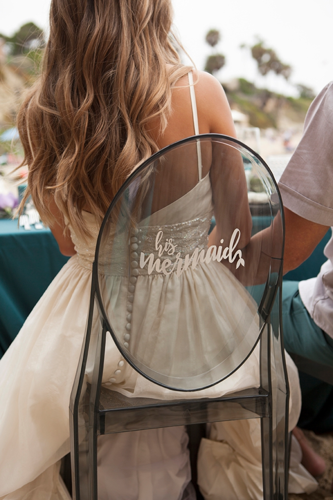 Romantic Mermaid Inspired Diy Beach Wedding