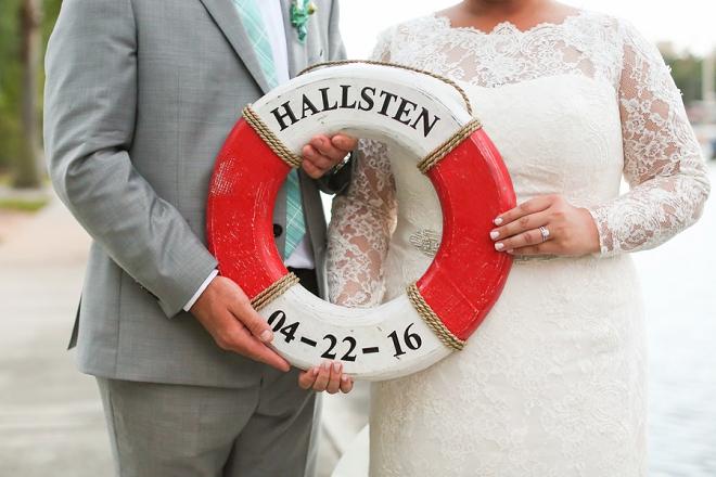 Crushing hard on this darling wedding day photo!