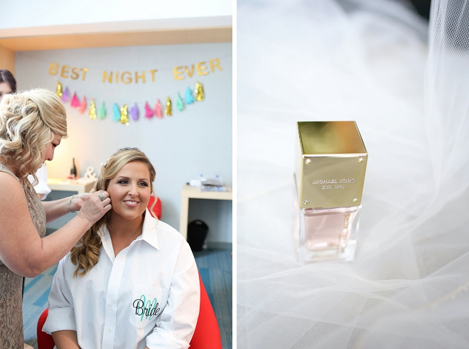We love a Bride who uses a signature wedding day perfume!