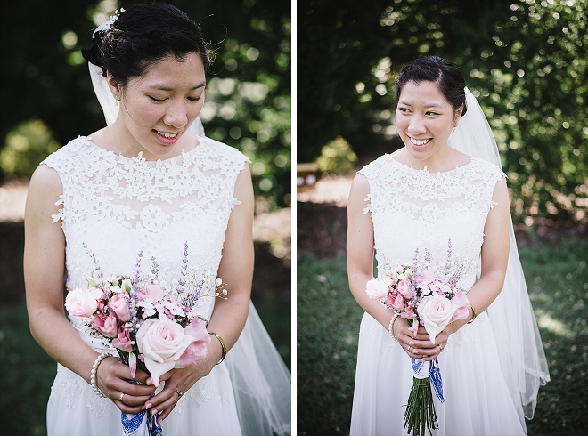 We're crushing on this gorgeous Bride's wedding style!