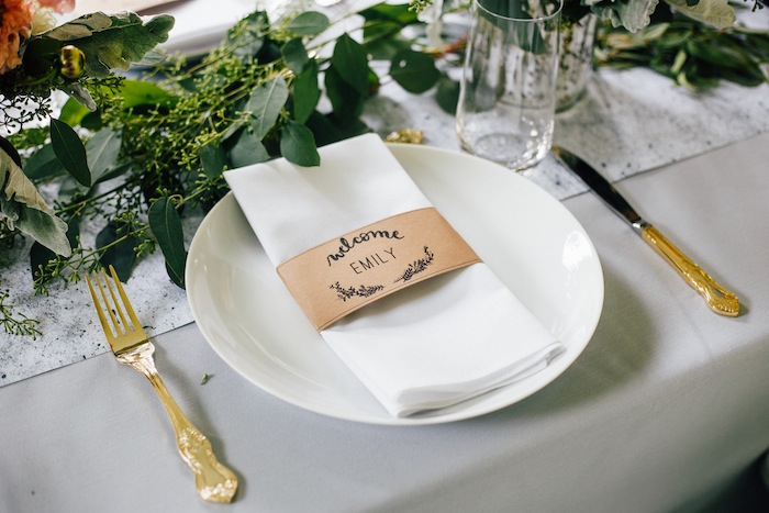 Free printable name tags for wedding guests.