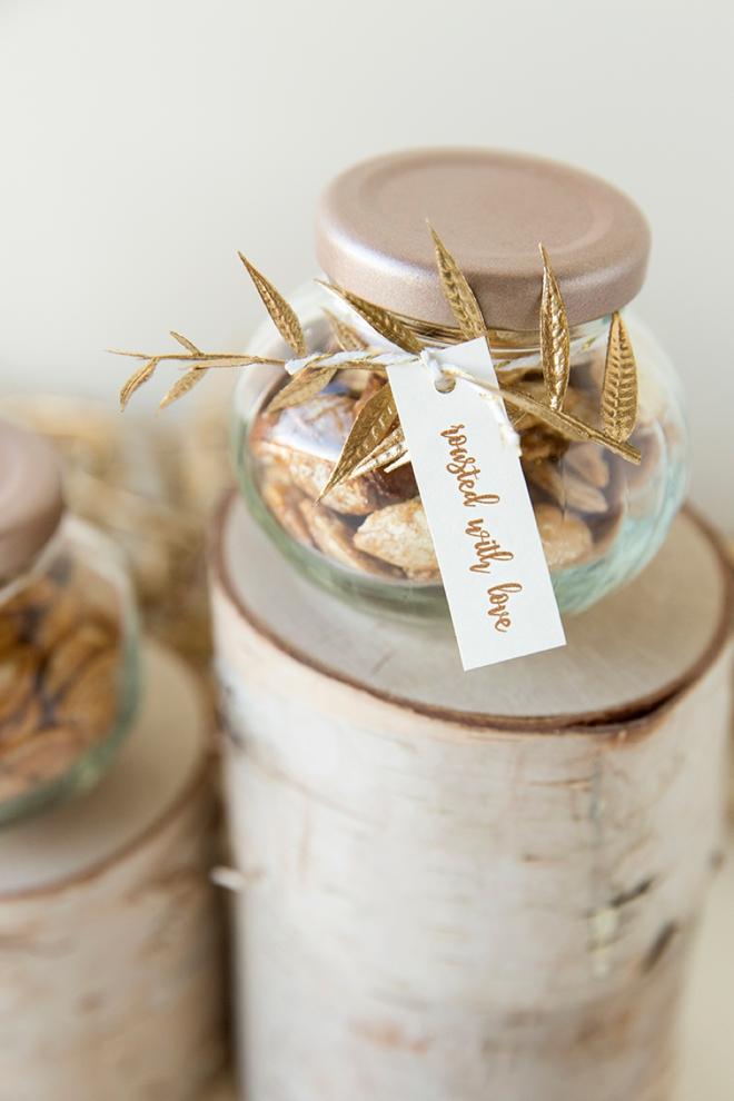 Learn How To Roast And Package Your Own Pumpkin Seeds Perfect For A Fall Wedding