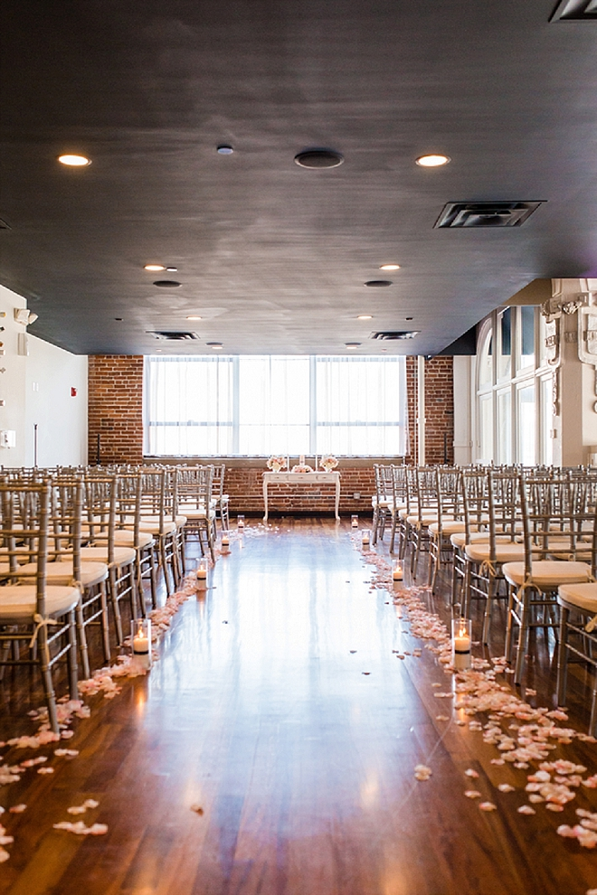 Swooning over this stunning ceremony venue at the Lumen!