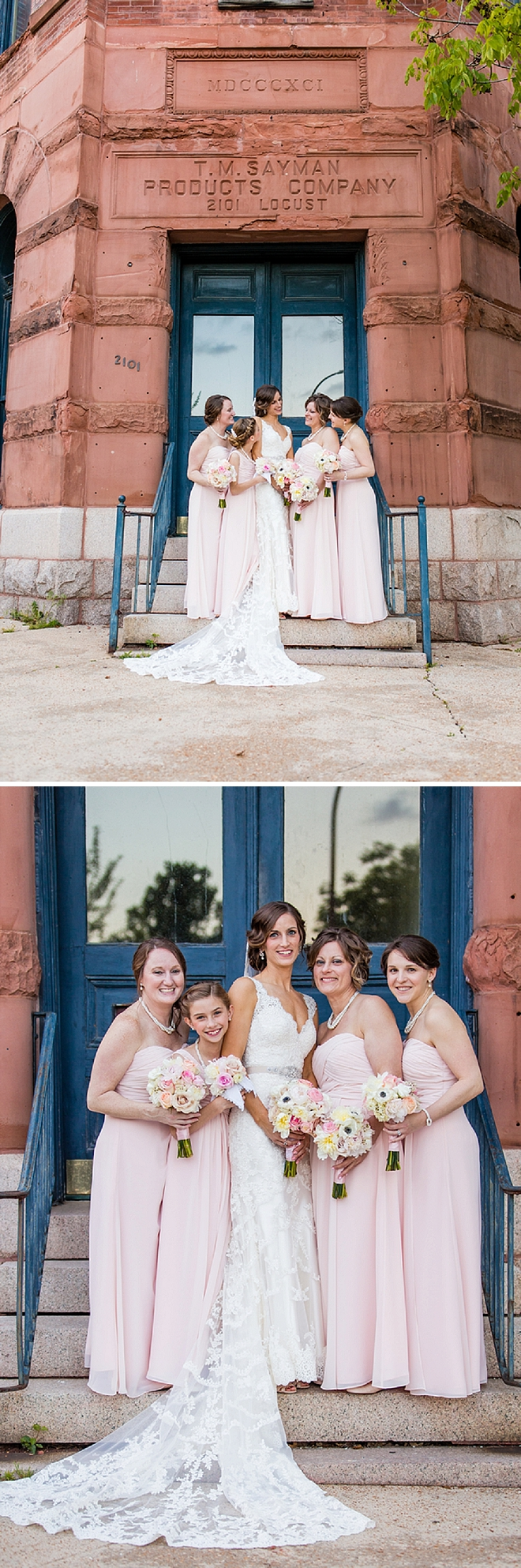 We love this gorgeous Bride and her darling Bridesmaid's before the first look!