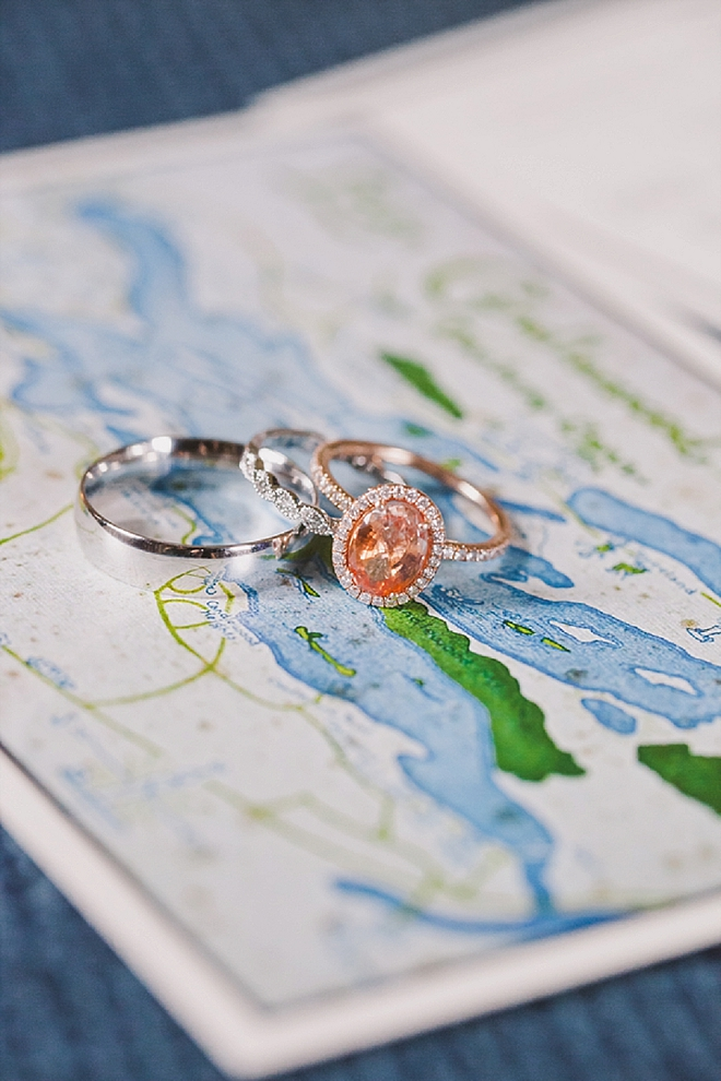 We are swooning over this stunning ring shot!