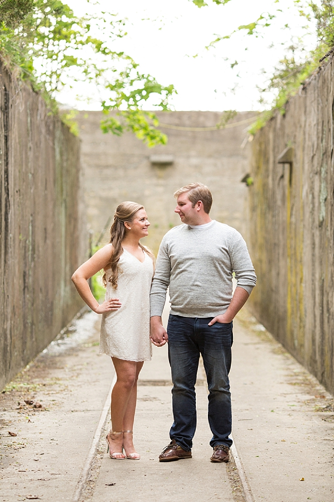 We love this darling engagement session with these two high school sweethearts!