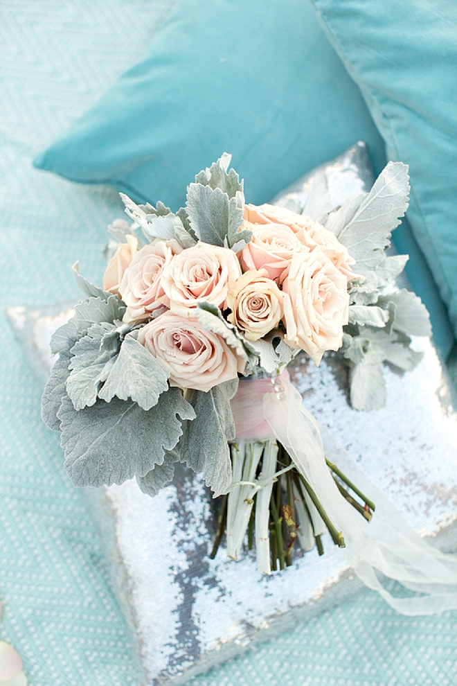How stunning is this Bride's engagement session bouquet?! LOVE!