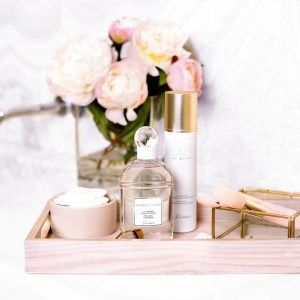 Pretty makeup and skincare.