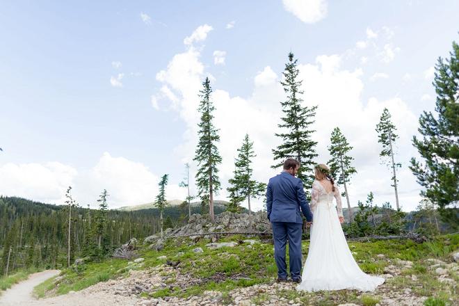 We're loving this stunning Denver wedding!
