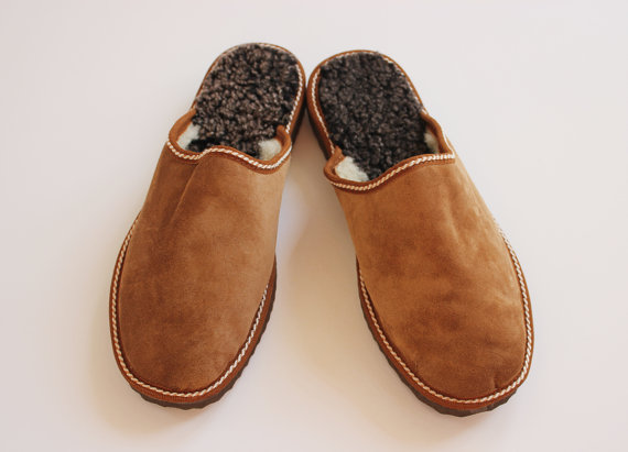 Great slipper idea for your man this holiday!