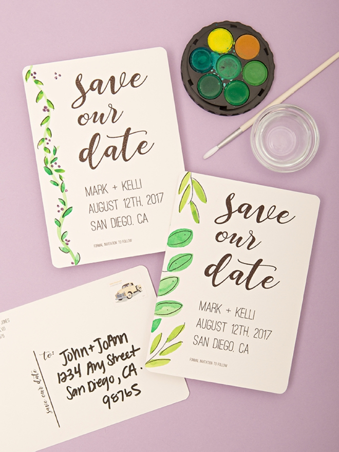 Check out these adorable free printable save the date postcards using our simple and modern design you get to add your own unique flair to these save the date postcards and youre guests will love it solutioingenieria Images