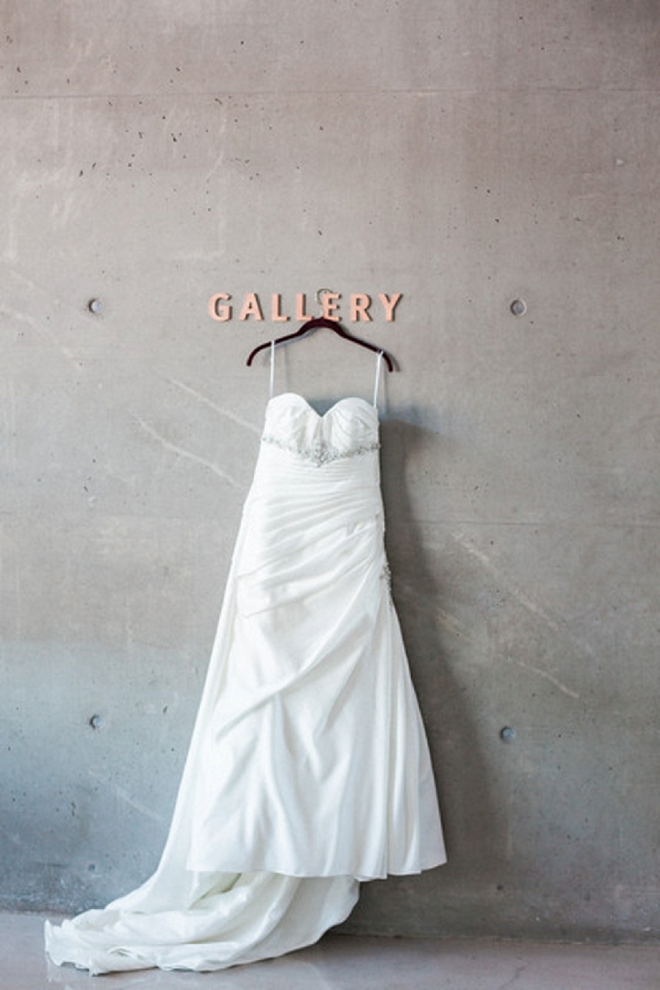 We are in LOVE with this Bride's dress shot in the gallery!