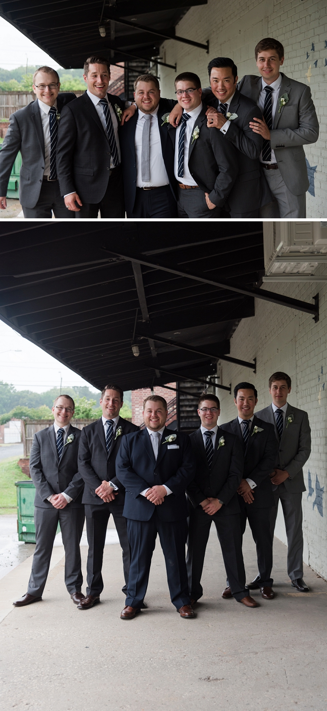 The Groom and his Groomsmen before the big day!