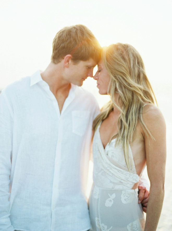 Sunrise make the perfect engagement backdrop.