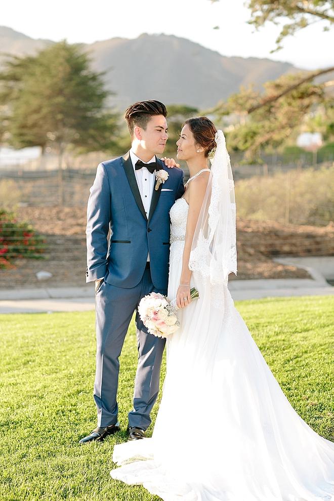 We're crushing on this stunning couple and their amazing handmade wedding!