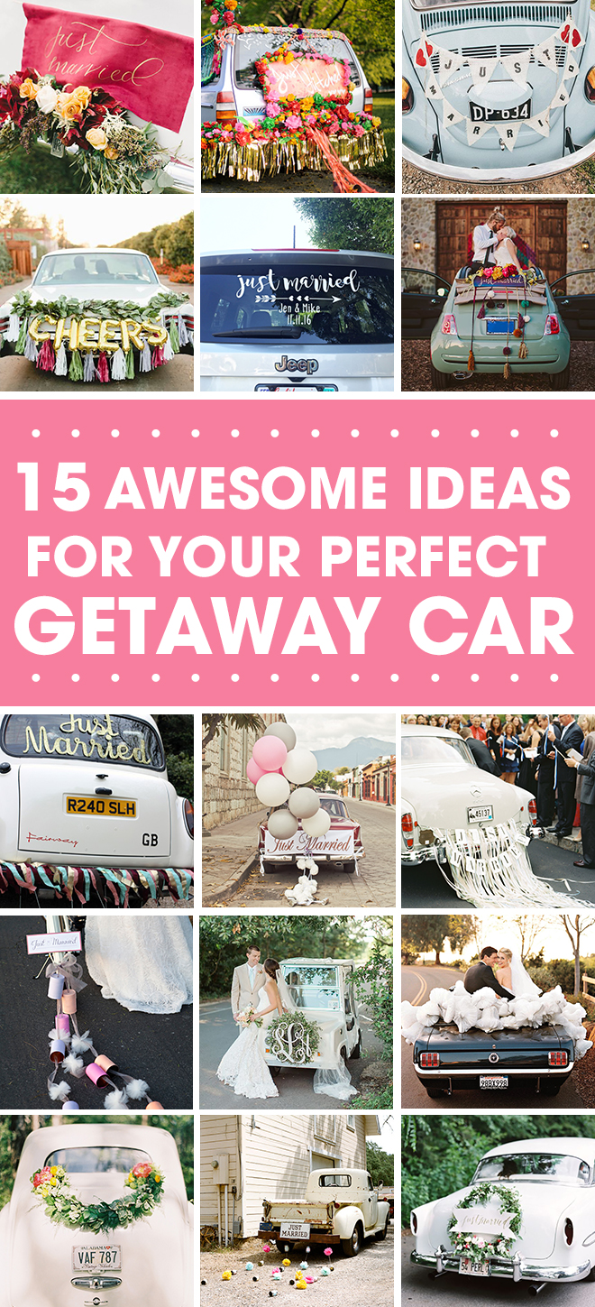 15 Amazing Getaway Car Ideas