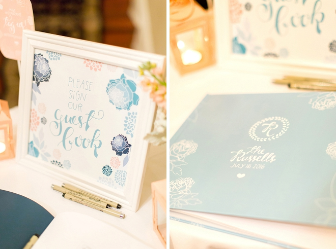 The Bride designed all of the reception details! How stunning!