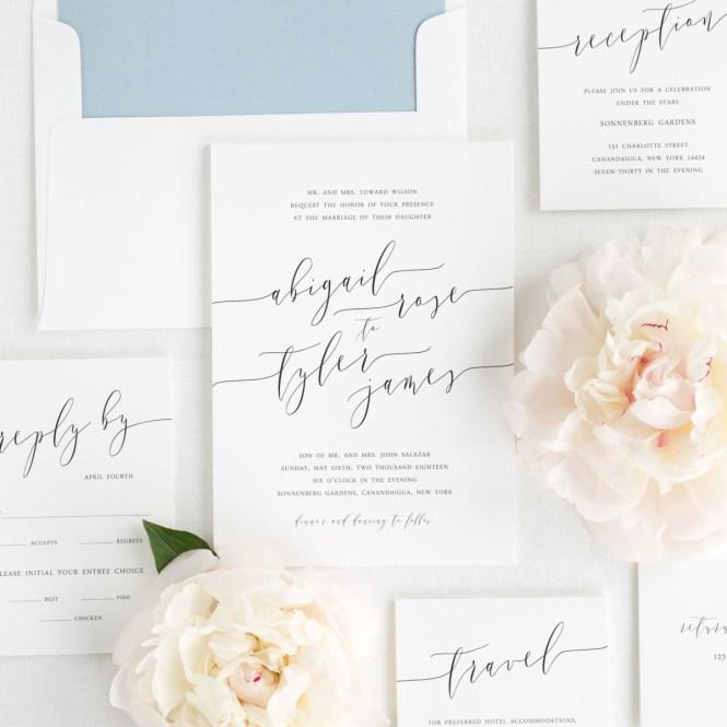 Etsy Wedding Invitation Templates Affordable