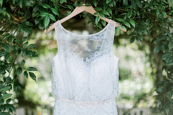 Check out this Bride's gorgeous BHLDN dress!