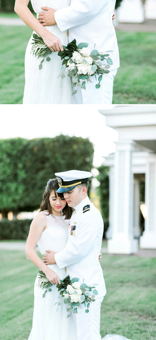 We're swooning over this stunning Mr. and Mrs. and their handmade day!