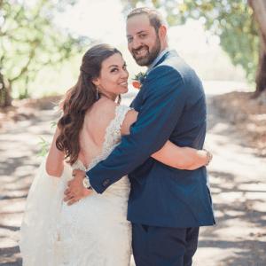 Crushing on this stunning handmade Spring wedding!