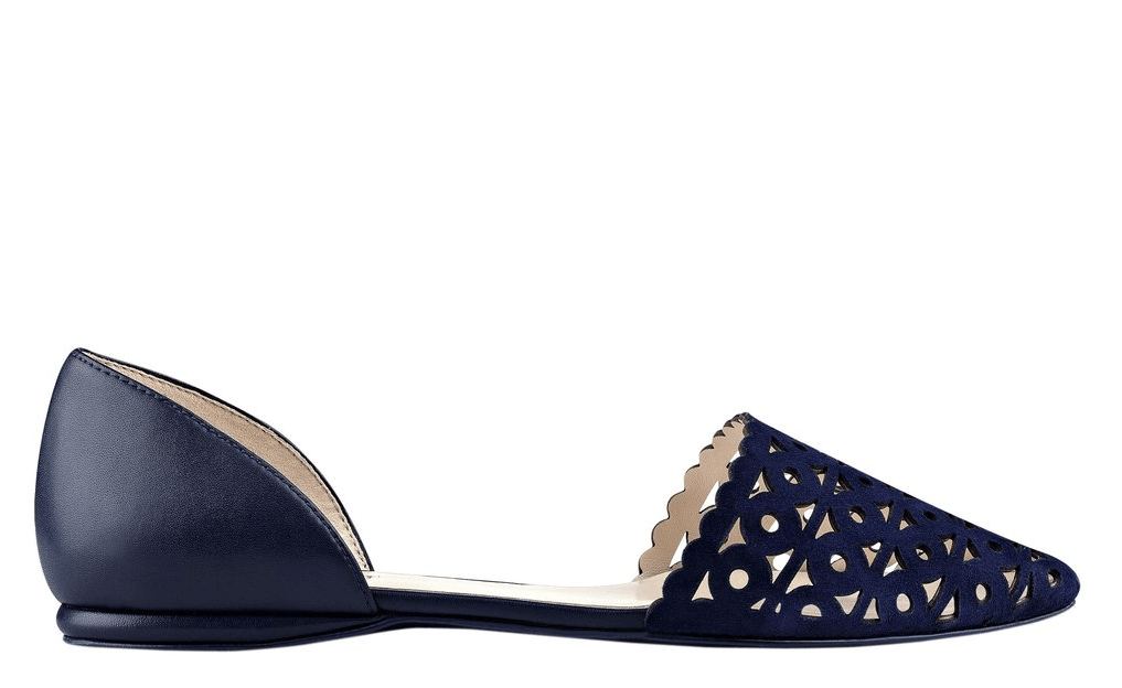 These nine west flats would be perfect as my 'something blue' at my wedding!