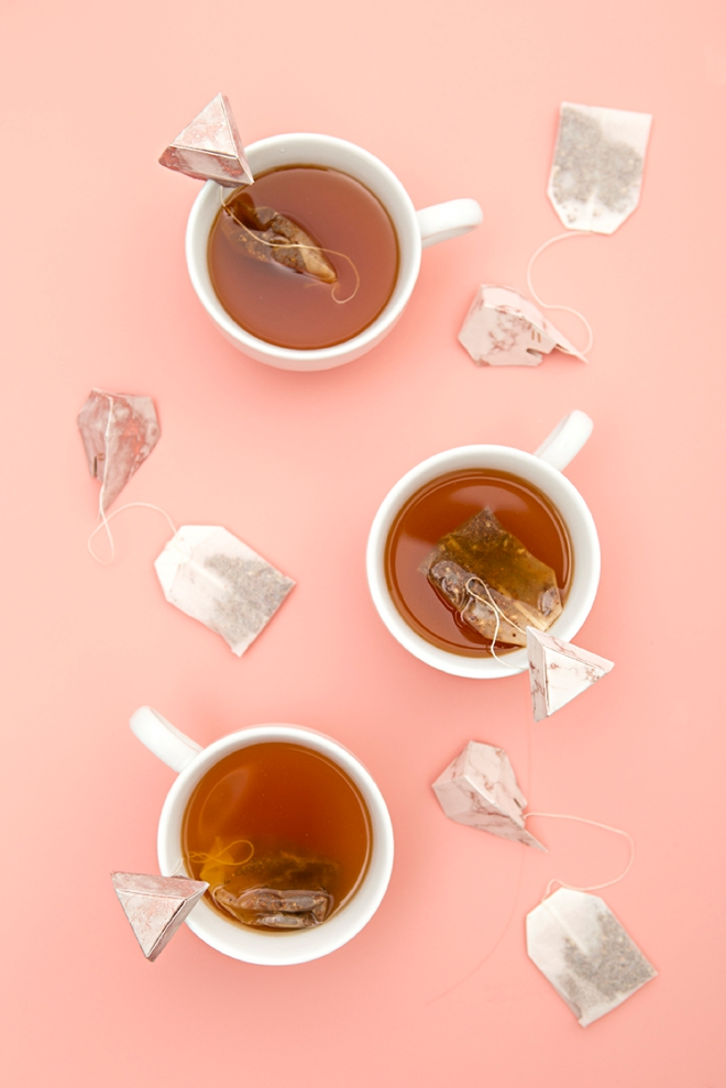Cut and make these diamond tea bag holders using your Cricut Explore Air2 and our free SVG file!