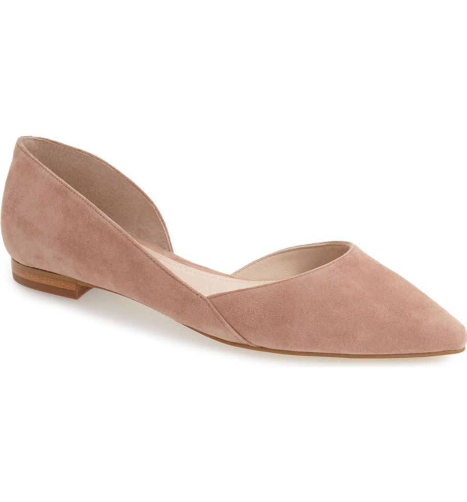These flats would be perfect to wear for my wedding AND also after! Love these MARC FISHER flats.