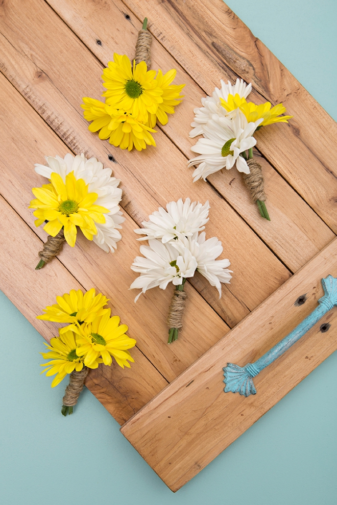 Everything you'll need to know about using daisies in your wedding!