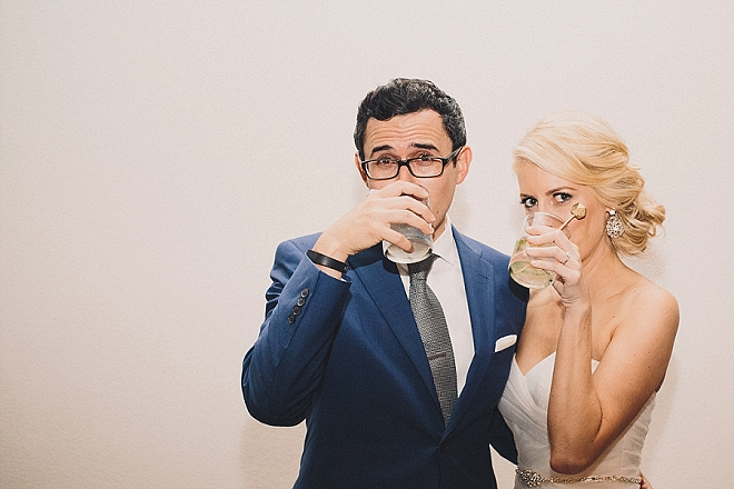 Mr. and Mrs. drinks equal cute Mr. and Mrs. drink photos!