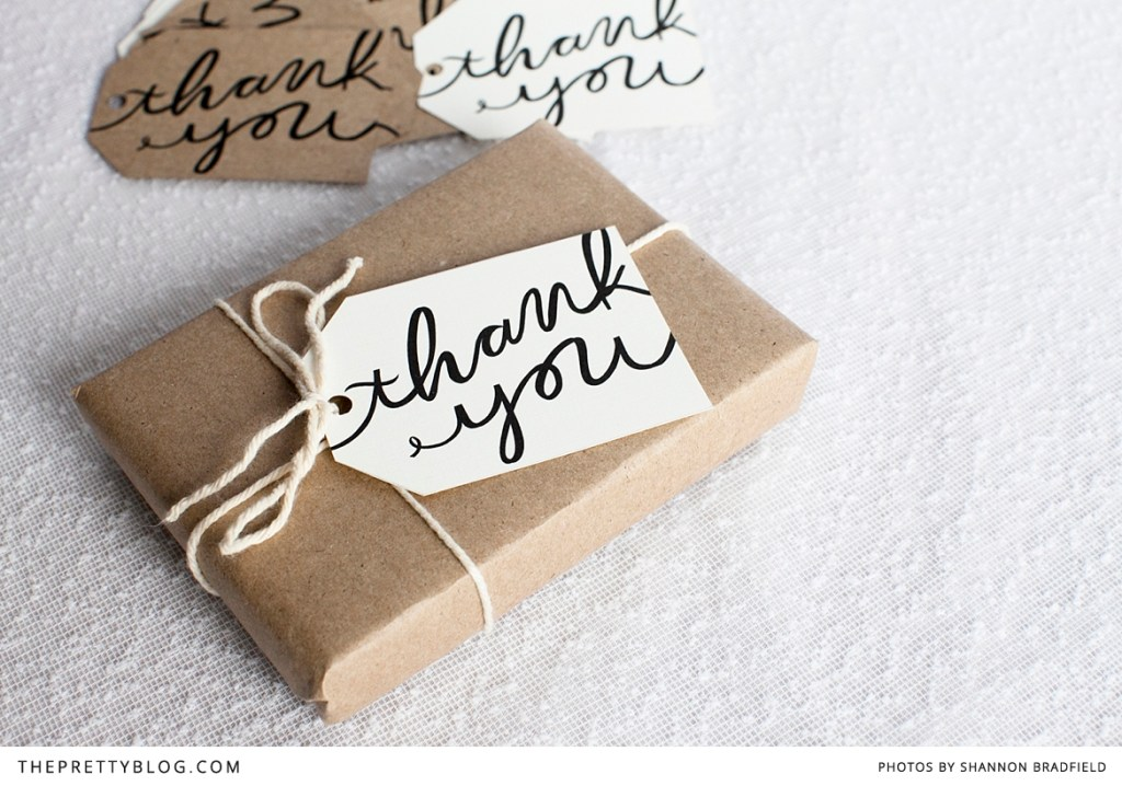 Free printable thank you cards! I like the idea of using these for our wedding favours, but also maybe for gifts and presents in general.