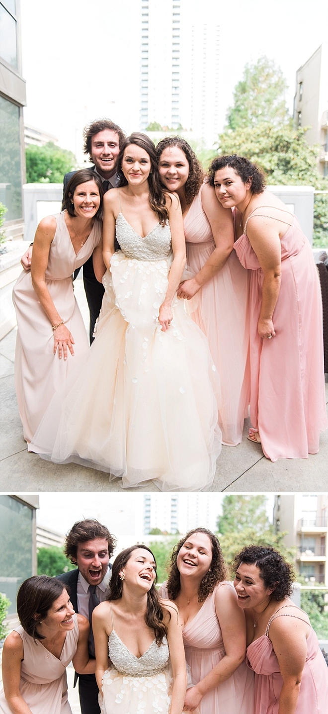 Loving these gorgeous snaps of the Bride and her Bridesmaid's (and Brideman!) before the big day!