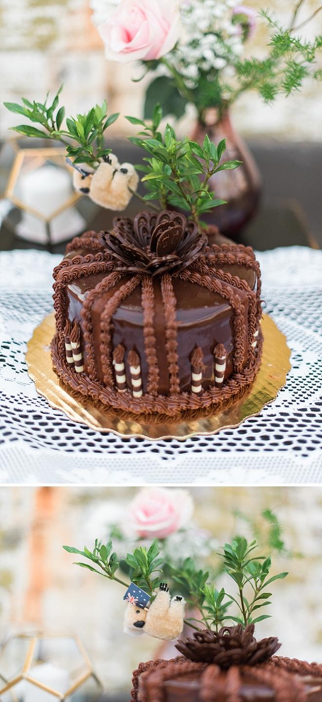 Loving this Australian Groomsmen cake!