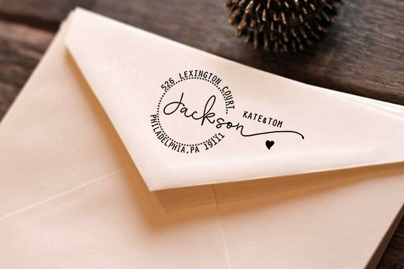 Custom return address stamp from Esprint