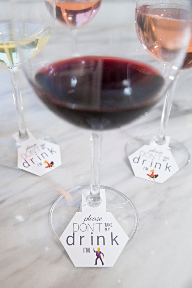 Free printable Don't Take My Drink I'm Dancing Tags, so awesome!