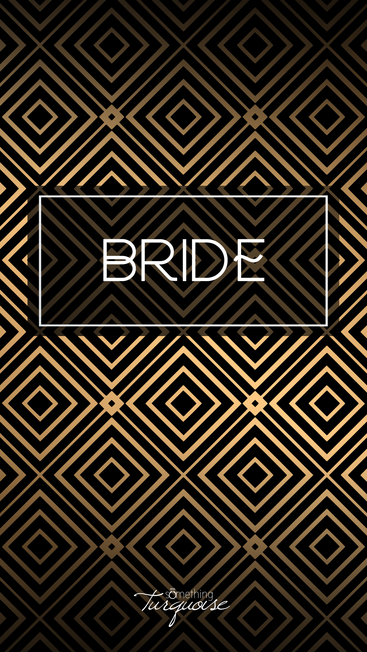 Check out this gorgeous BRIDE iPhone wallpaper, it's free!