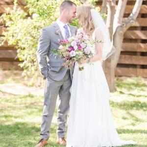 We're loving this gorgeous handmade wedding on the blog!